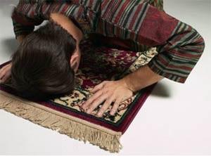 آرامش در نماز